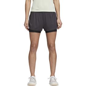 adidas 2In1 Chill Spodenki do biegania Kobiety, carbon